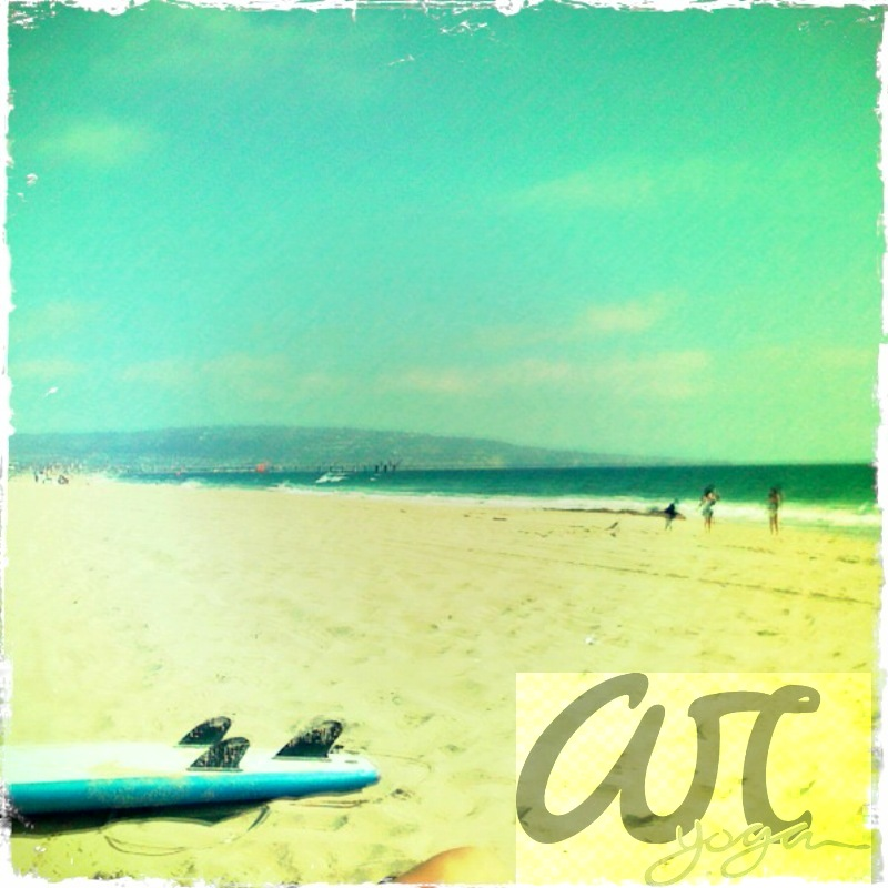 surfing & sun at hermosa beach.