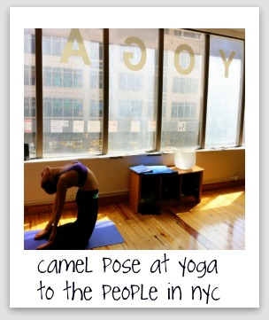 yoga to the people nyc polaroid