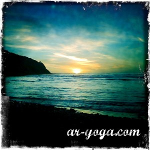 Palos verdes, cove, surf, sunset