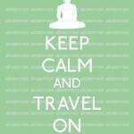 keep calm and travel on ar-yoga